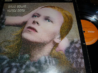DAVID BOWIE Hunky Dory Vinyl P RCA Victor SF8233 & Insert 33/61