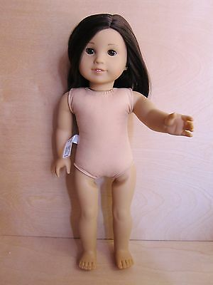 American Girl doll Just Like You Jess #40 brown eyes light skin pierced ears