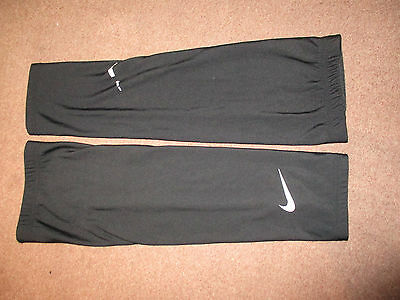 Nike Cycling Arm Warmers Skinarms Black Large Used Fair Fast Post
