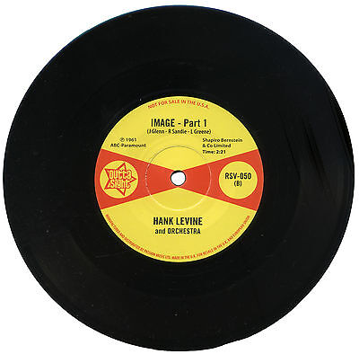 "HANK LEVINE and ORCHESTRA  ""IMAGE - Part 1""  EARLY 60's R&B   LISTEN!"