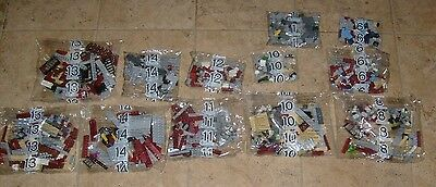 LEGO Ghostbusters Firehouse Headquarters 75827 Sealed Baggie Part Lot $7 Each