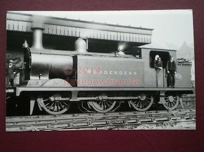 Photo  Southern Ex Lb & Scr Class E4 Loco No 499 Woodendean