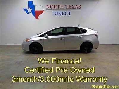 2013 Toyota Prius  13 Prius Hybrid Backup Camera Leather 1 Owner Warranty WE FINANCE Texas