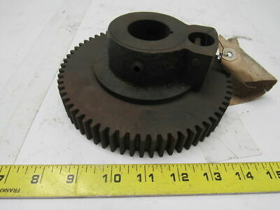 "Vintage Steampunk Industrial Machine Gear Lamp Base 6-3/4"" OD W/1-7/16"" ID Hole"