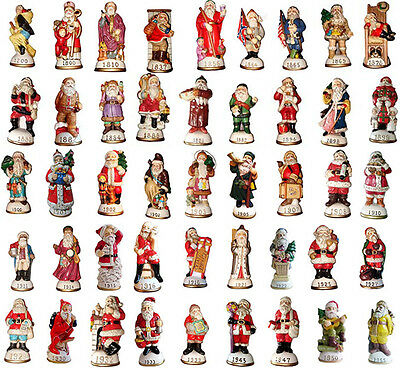 Lot of 20 Memories of Santa Collection Ornament/Figurines New In Box Don Warning