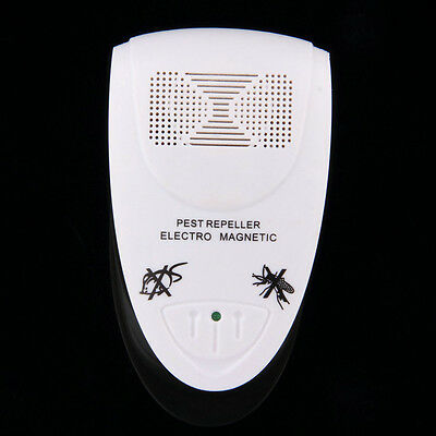 Electronic Rat Mouse Anti Mosquito Repeller Killer Rodent Pest Bug Reject UK