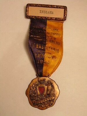 1928 medal:Pennsylvania County Commissioners / Allentown, Indiana County rep