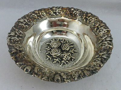 Sterling Silver 925 Fruit Candy Nut Dish Bowl 100 Grams