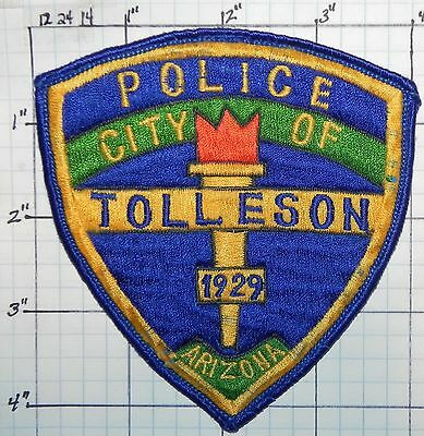 Arizona, Tolleson Police Dept Blue Edge Patch