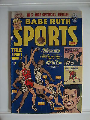 Babe Ruth Sports #11 G+ National Basketball Stars Of '51