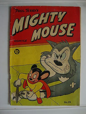 Mighty Mouse #26 FA/G Cutting Cats Nails