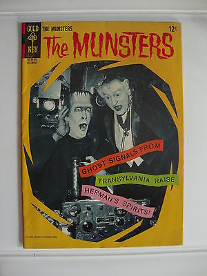 Munsters #10 G/VG Ghost Signals