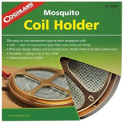 Coghlans Mosquito Coil Holder - Insect Bug Pest Repellent Tool Camping Outdoors