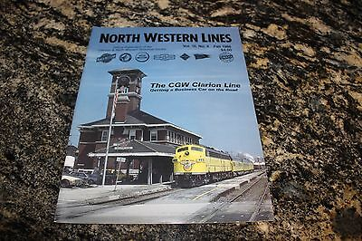 North Western Lines Magazine: Fall 1988 The Cgw Clarion Line (120)