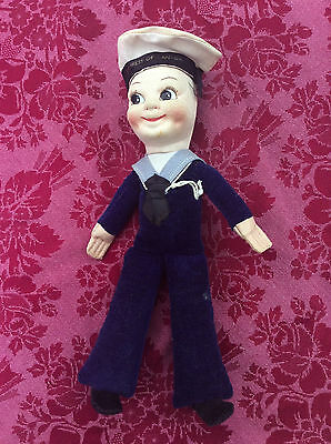 Ss Empress Of Canada  (1961)/mardi Gras - Norah Wellings Style Sailor Doll