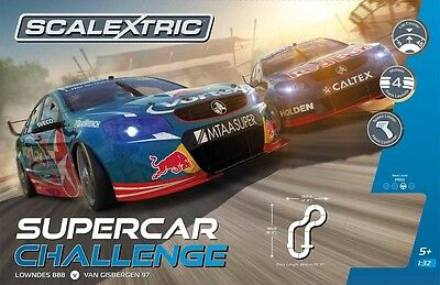 SCALEXTRIC 1:32 scale SPORT SET - SUPERCAR CHALLENGE