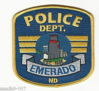 Emerado Police State North Dakota ND Colorful Shoulder patch