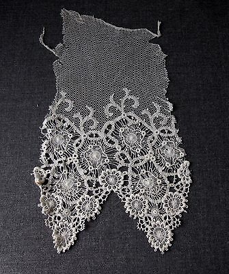 Antique Flowers Lace  9 X 4 1/2 Inches