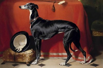 Edwin Henry Landseer Eos, A Favorite Greyhound of Prince Albert Painting repro