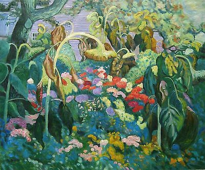 Group of Seven J.E.H. MacDonald The Tangled Garden Oil Painting repro