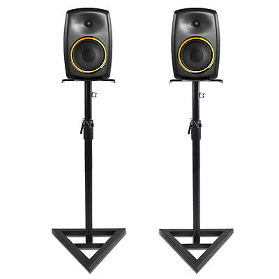 Adjustable Studio Monitor Stands Hi-Fi Studio Speaker Stands Pair UK