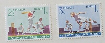 New Zealand 2 x 1969   (MLH)