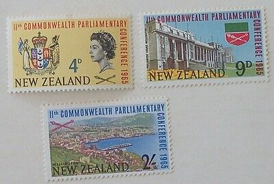 New Zealand 3 x 1965  (MLH)