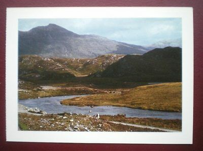 Postcard Sutherland Near Lochinver Nice View Towards The Mountains