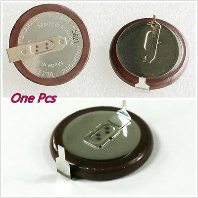 One Pcs 3V 50mA VL2330 Autos Vehicle Panasonic Rechargeable Button Coin Battery