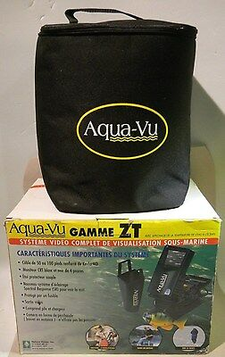 AQUA-VU UNDERWATER VIDEO VIEWING SYSTEM ZT 50 SERIES ICE FISHING with Bag