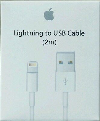 2M OEM Original Apple Lightning USB Charger Cable for iPhone 6S Plus iPhone 5S