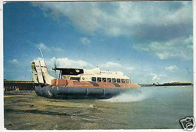 HOVERCRAFT SRN6 - 1960s era used postcard by J Arthur Dixon - Ryde Isle Of Wight