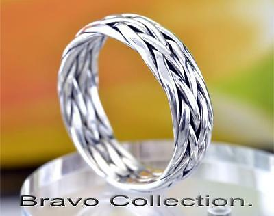 SIZE 10 Solid Sterling Silver Wedding Engagement Promise Thumb Men Ring R-222