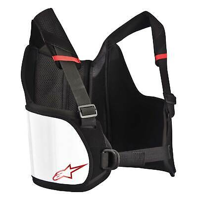 Alpinestars Bionic Kart/Karting Rib Protector/Support Small/Large - White/Black