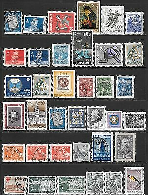 YUGOSLAVIA Interesting and Diverse Mint & Used Issues Selection 'N' (Dec 0452)