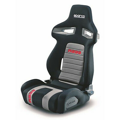 00965NRGRS Asiento Sparco R333 Negro Antracita