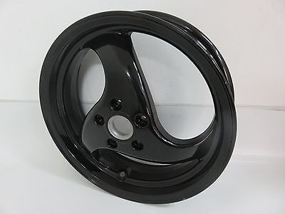 OEM Piaggio NRG Purejet, MC2, MC3 DD - Rear Wheel Black Part 5638990090
