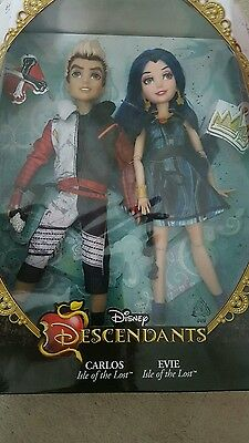 Disney Decendants Evie Carlos duo dolls NEW SOLD OUT twin pack