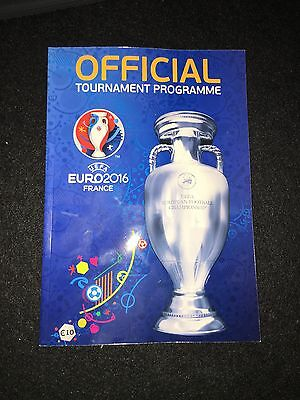 Official Programme Euro 2016 Frankreich France EM Englisch English