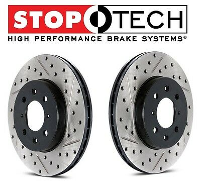 StopTech 126.61046SL Sport Slotted Brake Rotor; Rear Left