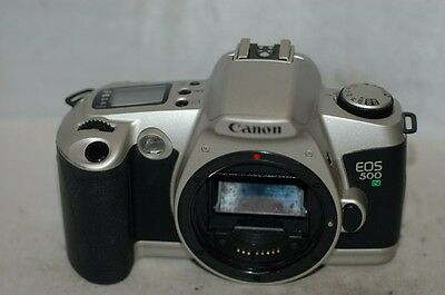 Canon Eos 500N   35 Mm Film   Camera  Body: Not Fully Tested.
