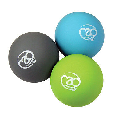 Fitness Mad Trigger Point Massage Ball Set Exercise relief RRP £9.99 *BNWT*