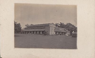 INDIA - Vintage Postcard Building View - Real Photo - India I think