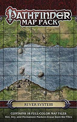 Pathfinder Map Pack: River System,  -  - NEW