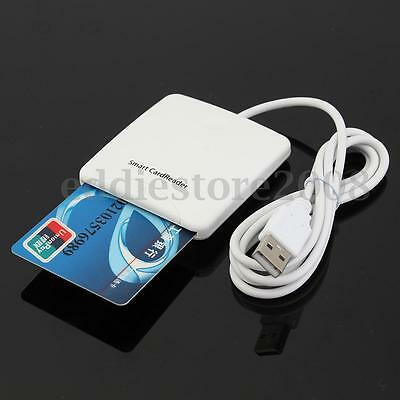 Credit/IC Card Reader/Writer USB Contact Chip Cards Encoder With SIM Slot POS