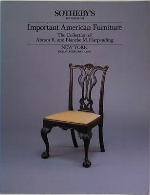 Colonial & Federal American Furniture - The Abram R. Harpending Collection