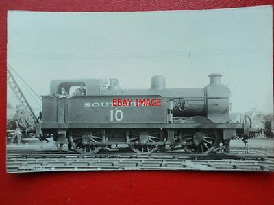 Photo  Sr 0-6-0T Loco No A10