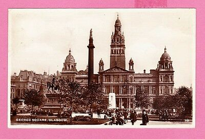 Dated 1950. George Square, Glasgow , Lanarkshire