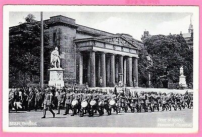 Two cards. Guns on Rhine Bank. 1919. and Berlin, Parade.