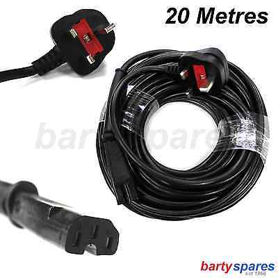 for VICTOR Polisher Airflow Excel Jeyes Ranger Power MAINS CABLE Plug Lead 20m